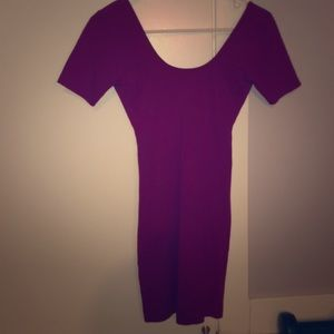 Fuschia American apparel dress